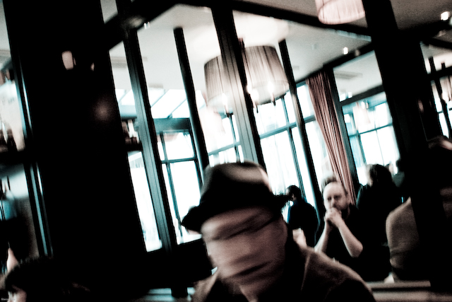 Blurry. Photo by Marcia Yapp