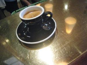 Double espresso. 3.23.09. Photo by Al Rose.